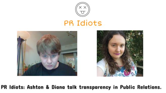 PR Idiots convo