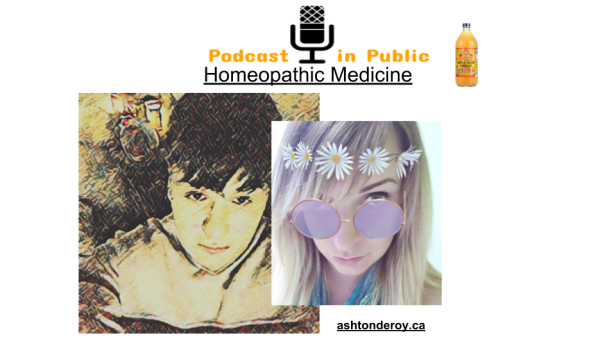 Podcast in Public Homeopathic medicine promo