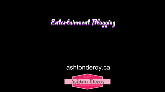 Entertainment blogging