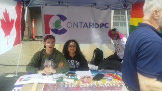 Conservative Party Booth Toronto Pride 2018