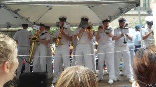 Navy Toronto pride