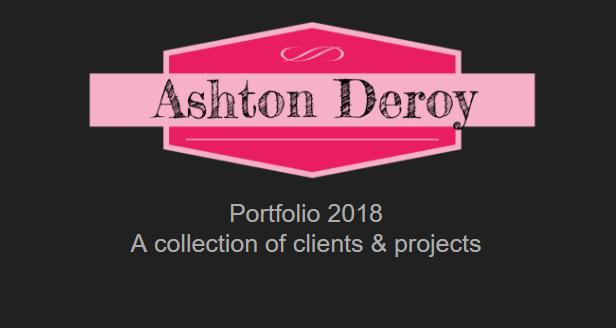 Ashton Deroy portfolio