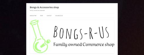 Bongs & accessories website Quinte West