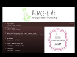 Bongs-R-Us.ca & Swan Whispers ASMR Playlist