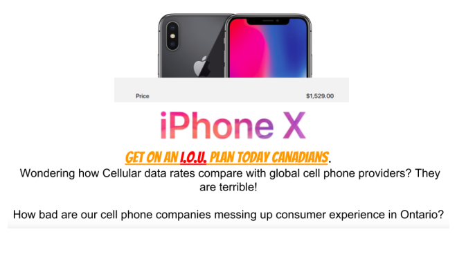 IOU cell phones. Stop consumer debt.png