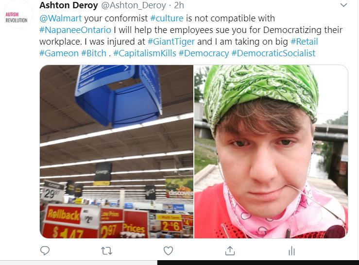 Wal-mart capitalism Kills