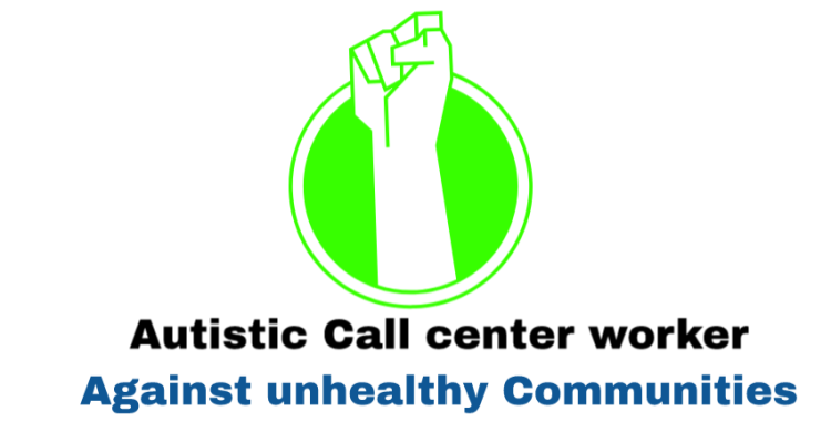 Autistic call center worker