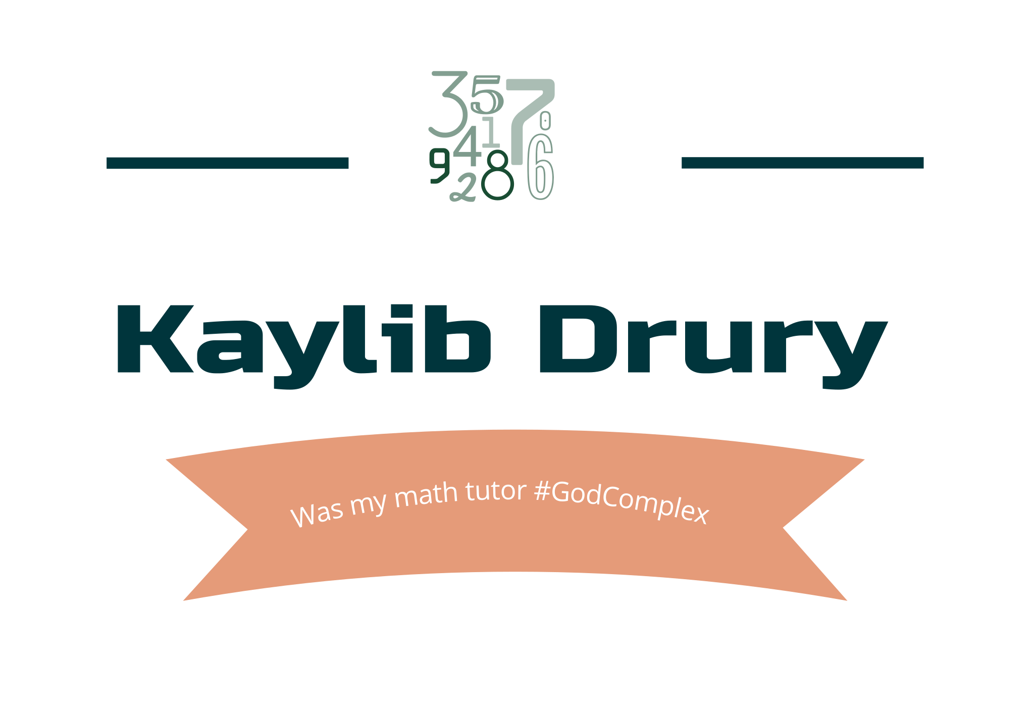 Kaylib Drury to people
